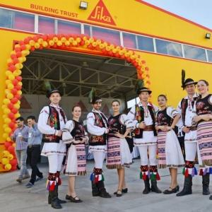 Inaugurarea fabricii Sika 2014